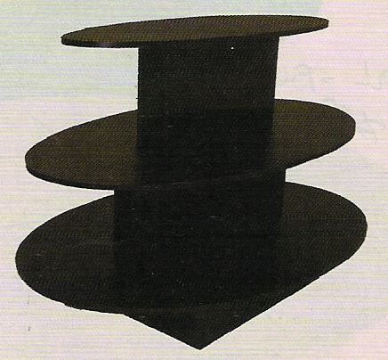 Table Oval BLK 820